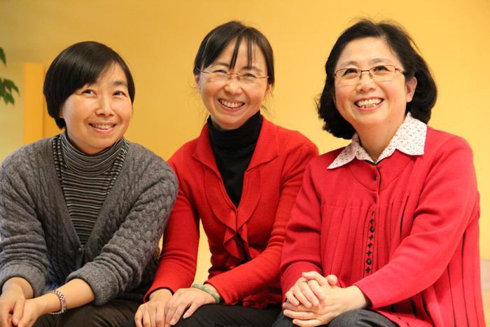 Meisterinnen Dr. Li Qi Gong